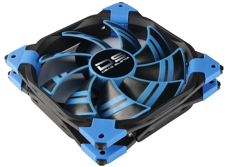 Вентилятор AeroCool DS Blue 120mm 4713105951585