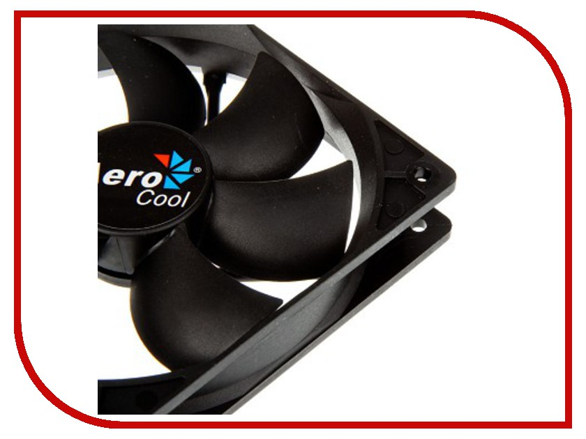 Вентилятор AeroCool Dark Force Black 140mm 4713105951349