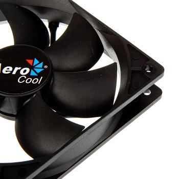 Вентилятор AeroCool Dark Force Black 120mm 4713105951332
