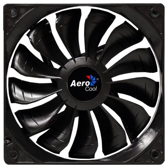 Вентилятор AeroCool Air Force Black Edition 140mm 4713105951479