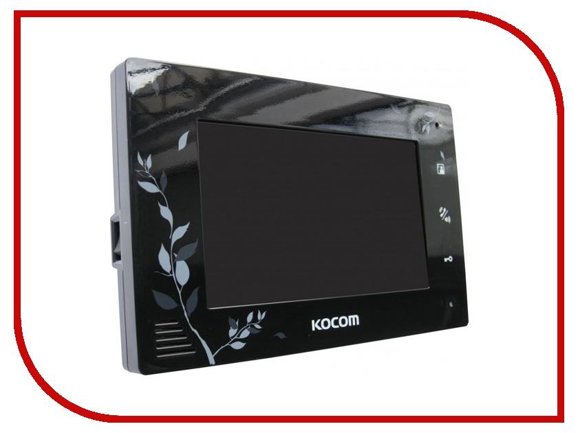 Видеодомофон Kocom KCV-A374LE Black<br>
