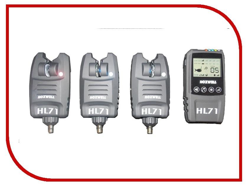 Сигнализатор поклевки Hoxwell HL71 / M сигнализатор поклевки hoxwell hl272 набор свингеров в кейсе