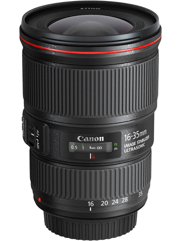 Объектив Canon EF 16-35 mm f/4L IS USM объектив canon ef 70 200mm f 2 8l is iii usm