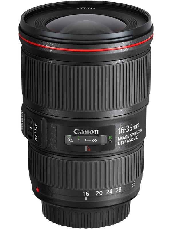 Фото - Объектив Canon EF 16-35 mm f/4L IS USM объектив canon ef m 28 mm f 3 5 macro is stm
