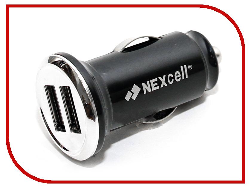 �������� ���������� NEXcell 2xUSB 2100/1000mA CC23A-104