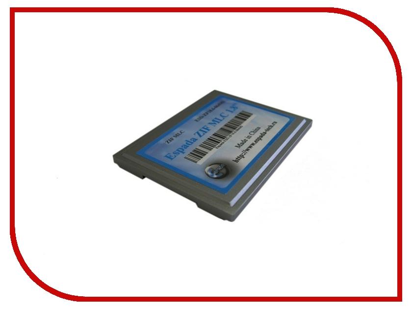 Жесткий диск 128Gb - Espada ZIF MLC SSD 1.8 ESD-ZF18.6-128MS