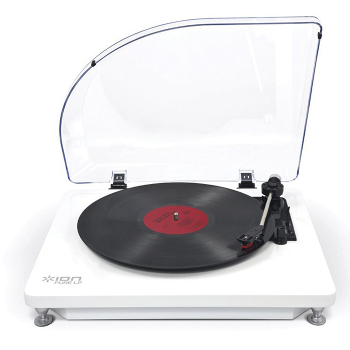 Проигрыватель виниловых дисков ION Audio Pure LP White IONpurelpwh<br>