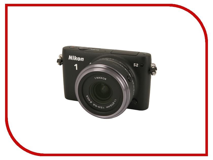 Фотоаппарат Nikon 1 S2 Kit 11-27.5 mm F/3.5-5.6 Black<br>