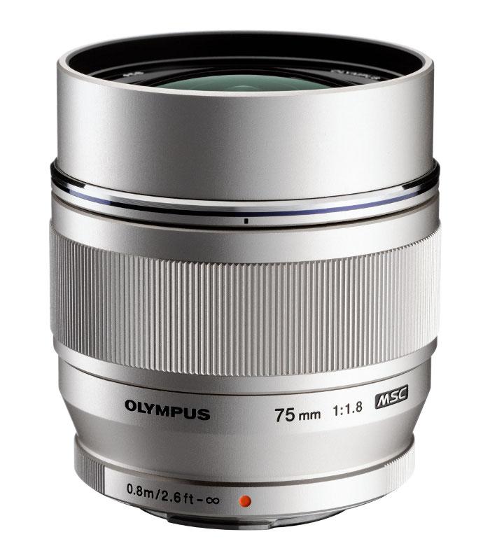 Объектив Olympus M.Zuiko Digital ED 75 mm F/1.8 for PEN Silver*