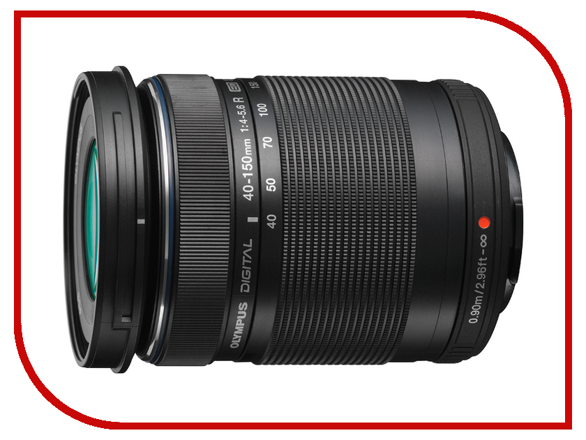 Объектив Olympus M.Zuiko ED 40-150 mm f/4.0-5.6 R for PEN Black*