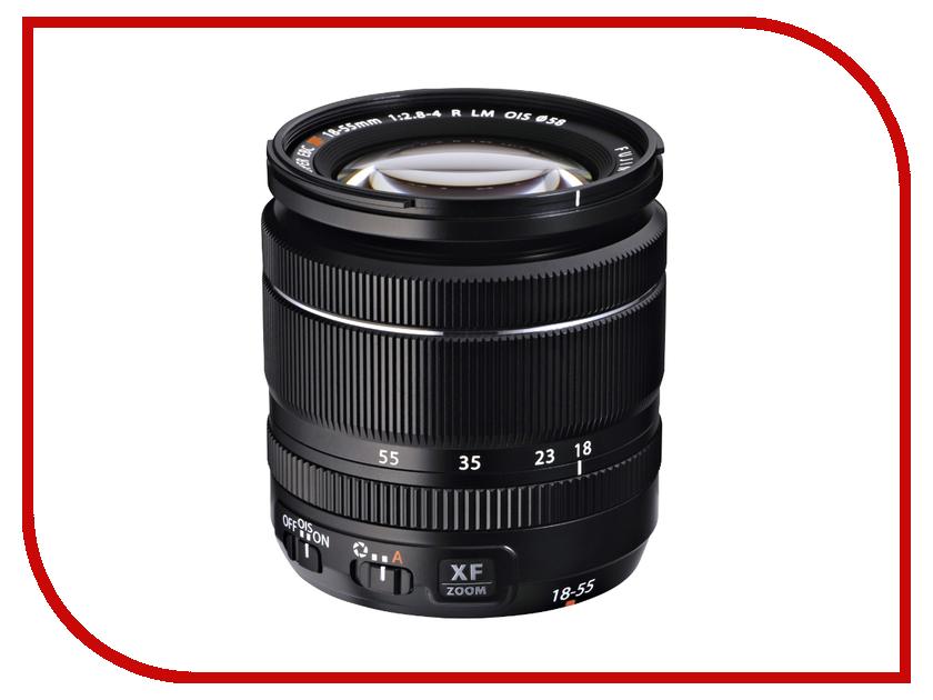 Объектив Fujifilm XF 18-55mm F2.8-4 R LM OIS объектив fujifilm xf 90mm f 2 r lm wr