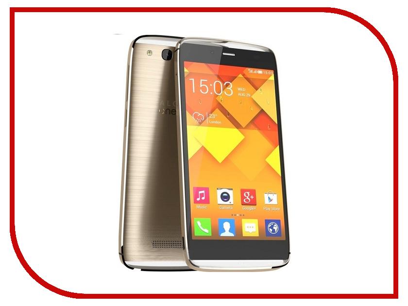 Сотовый телефон Alcatel OneTouch 6032X Idol Alpha Soft Gold<br>