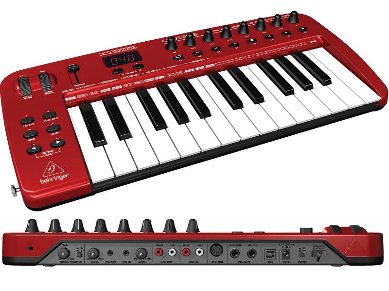 Midi-клавиатура Behringer U-CONTROL UMA25S 25<br>