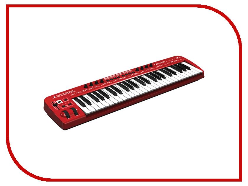 Midi-клавиатура Behringer U-CONTROL UMX490 49
