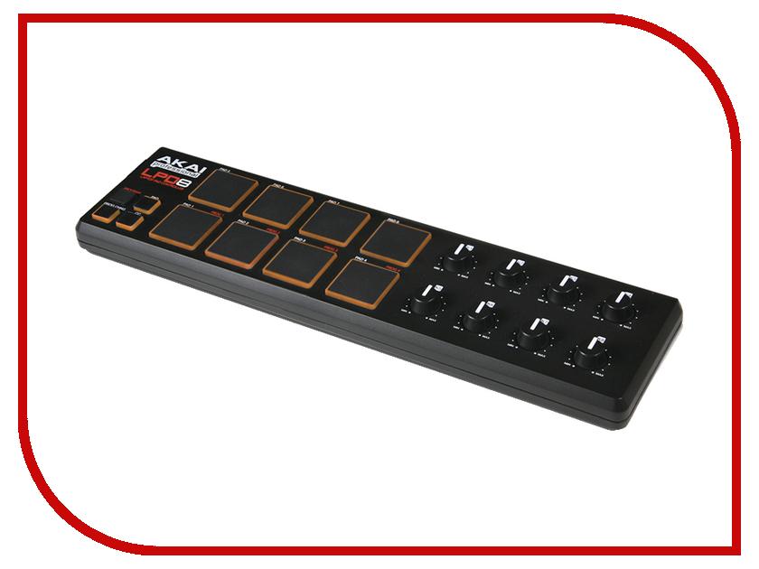 MIDI-контроллер AKAI Pro LPD8 akai professional mpc studio black
