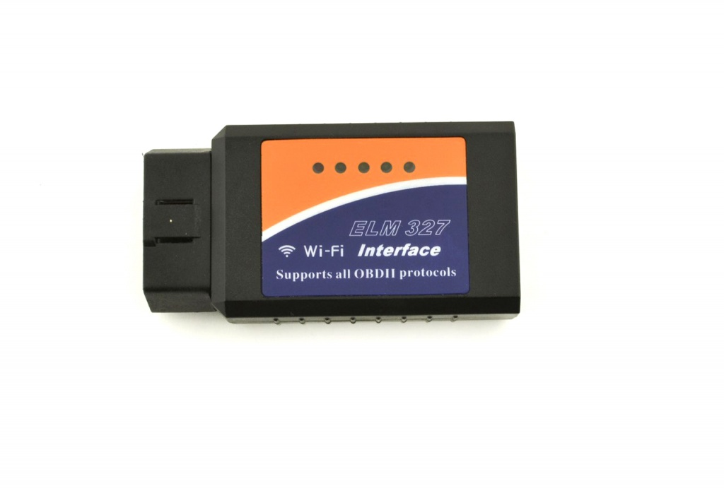 Автосканер OBDII Quantoom ELM 327 Wi-Fi