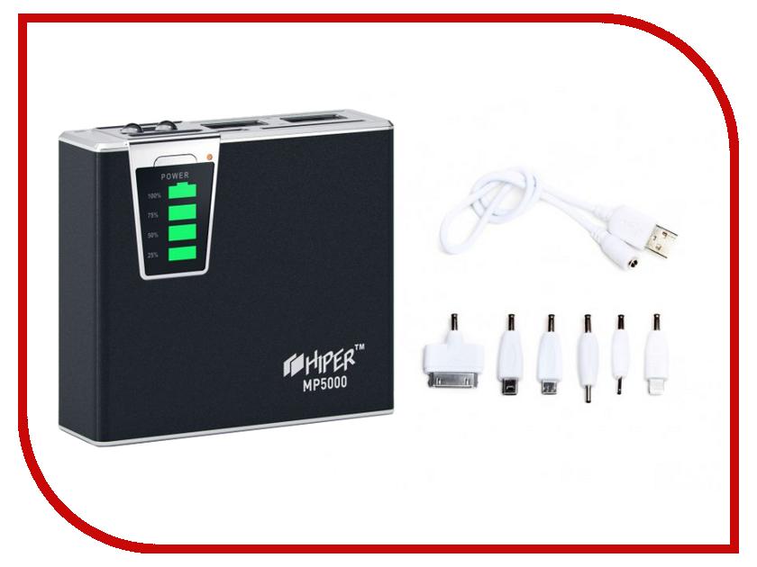 Аккумулятор HIPER Power Bank MP5000 5000 mAh Black<br>