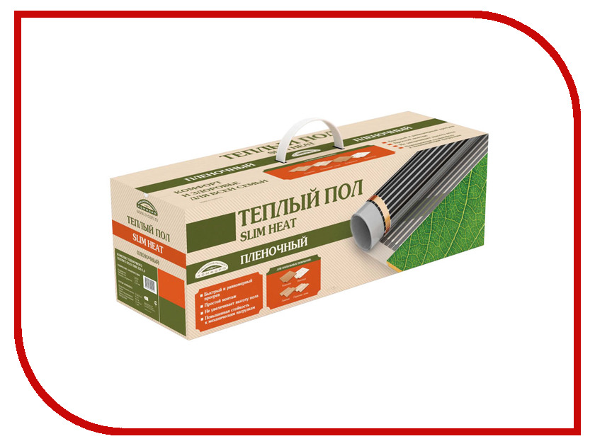 Теплый пол Теплолюкс Национальный Комфорт ПНК-2200-10.0