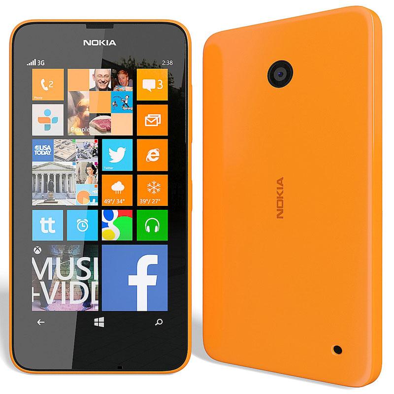Сотовый телефон Nokia 630 Lumia Dual SIM Orange