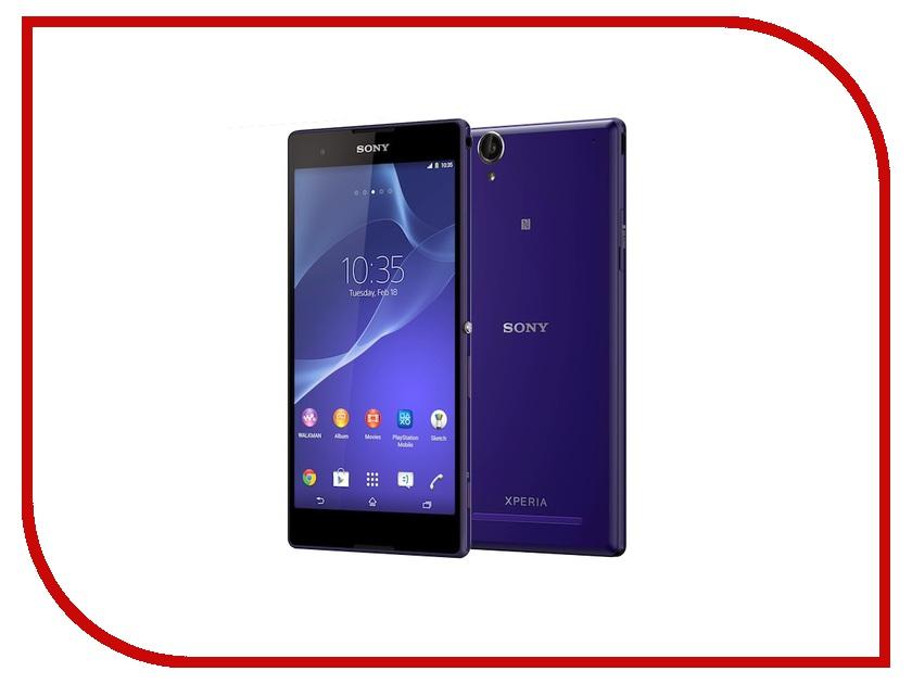 Сотовый телефон Sony D5303 Xperia T2 Ultra Purple<br>