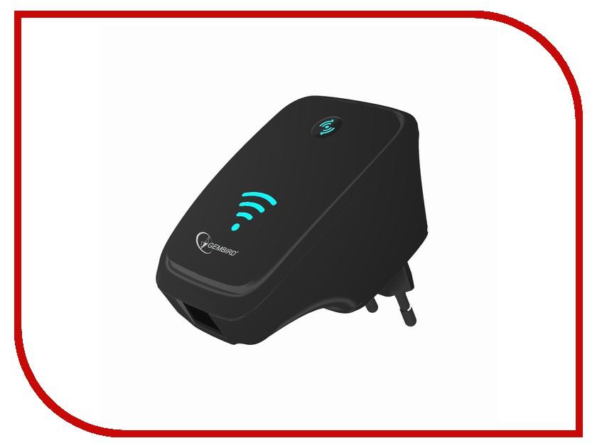 Wi-Fi усилитель Gembird WNP-RP-002-B Black<br>