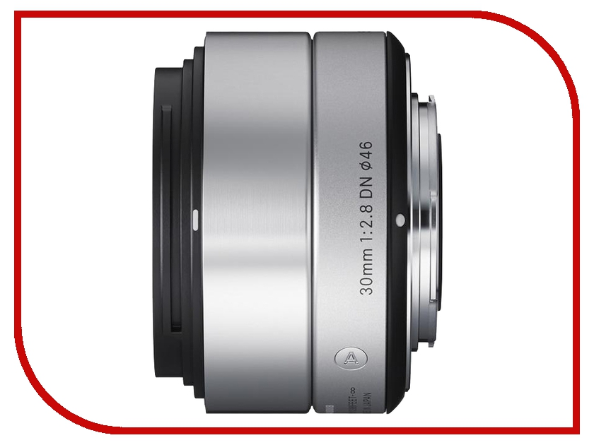 Объектив Sigma Sony E AF 30 mm F/2.8 DN ART for NEX Silver объектив sigma af 19mm f 2 8 dn a для micro four thirds черный