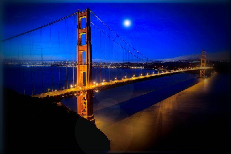 Гаджет Светодиодная картина Экспедиция HD1087 Мост