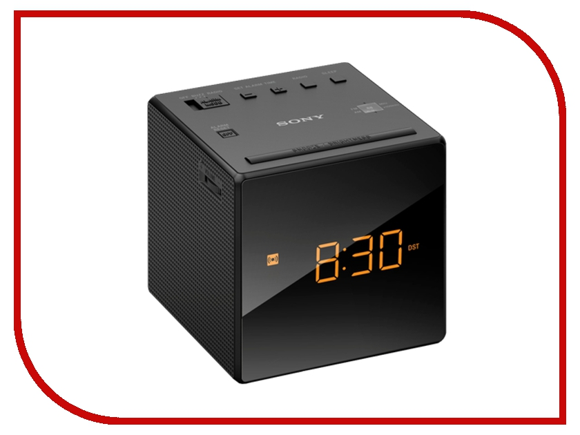 Часы Sony ICF-C1 Black sony icd ux560 black