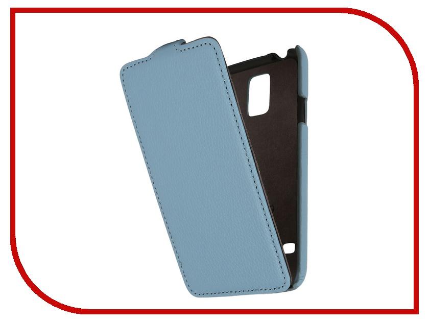 Аксессуар Чехол Samsung ST-i9600 Galaxy S5 Partner Flip-case Blue<br>