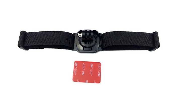 Аксессуар Lumiix GP127 for GoPro Hero 3+/3/2/1 Поворотное крепление на вентилируемый шлем на 360 градусов