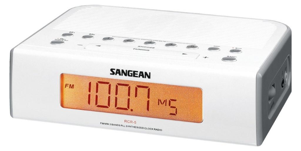 Радиоприемник Sangean RCR-5 Silver от Pleer