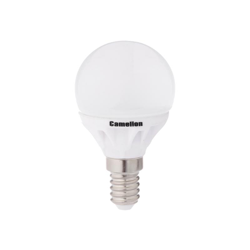 Лампочка Camelion LED4-G45/830/E14<br>