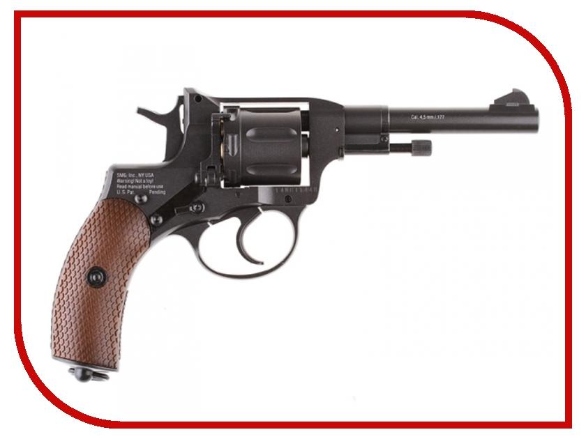 Револьвер Gletcher NGT F Black