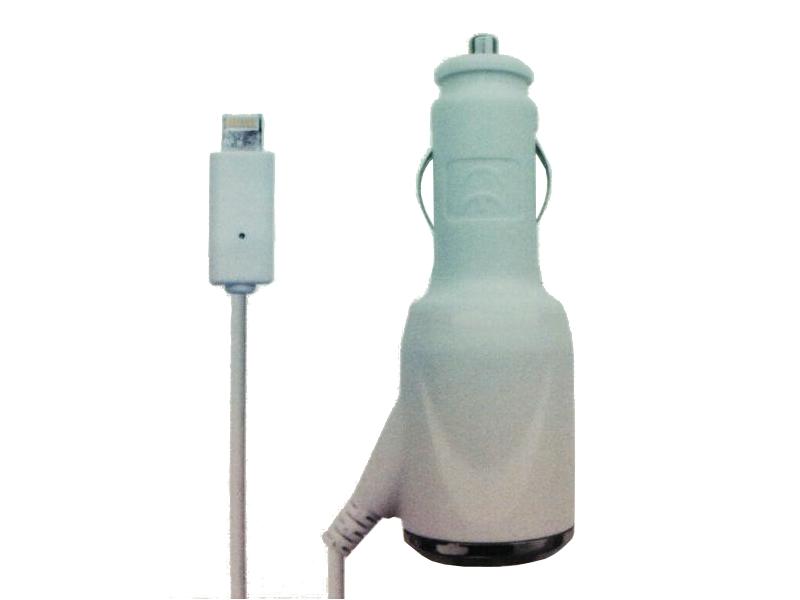 Аксессуар WIIIX IP514 for iPhone 5 / iPad 4/ iPad mini / Nano 7 зарядное устройство автомобильное