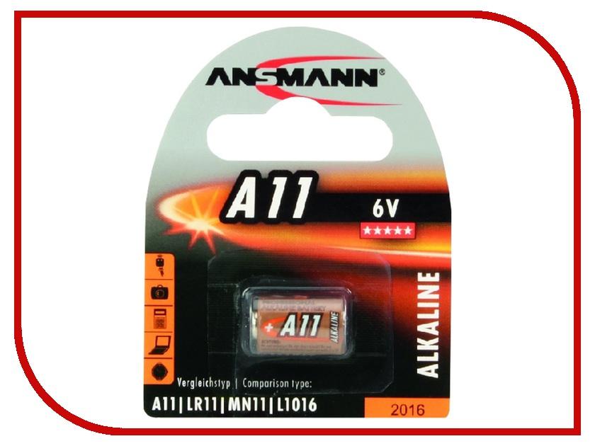 Батарейка Ansmann A11 6V BL1 1510-0007