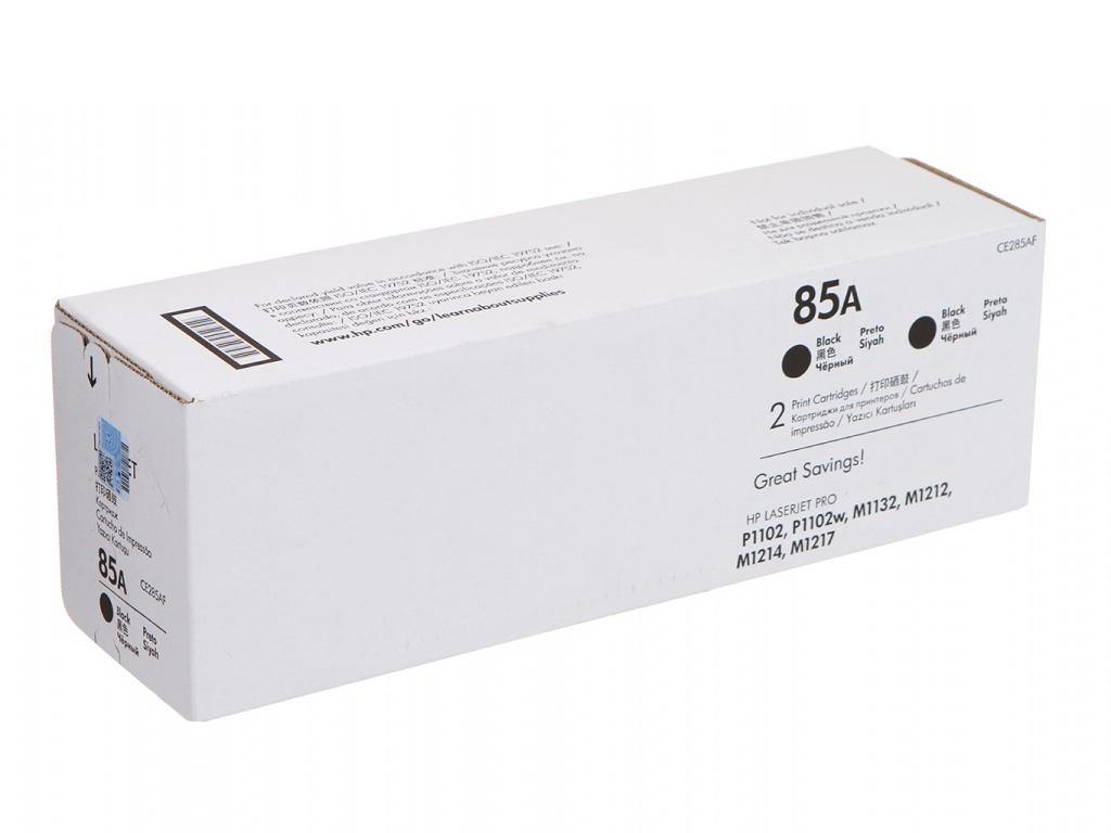 Картридж HP 85A CE285AF Dual Pack Black для HP LaserJet P1102 / P1102W / M1212NF