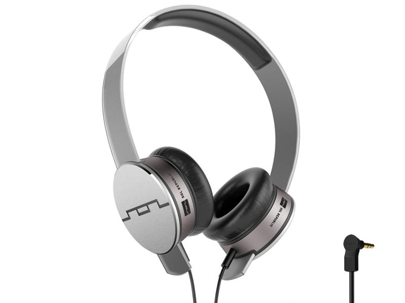 Купить    Наушники SOL REPUBLIC Tracks HD MFI Grey 1241-04