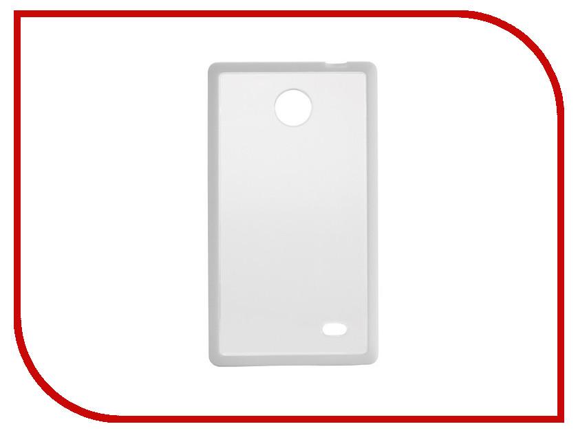 Аксессуар Чехол Nokia X NEXX Zero поликарбонат White MB-ZR-600-WT