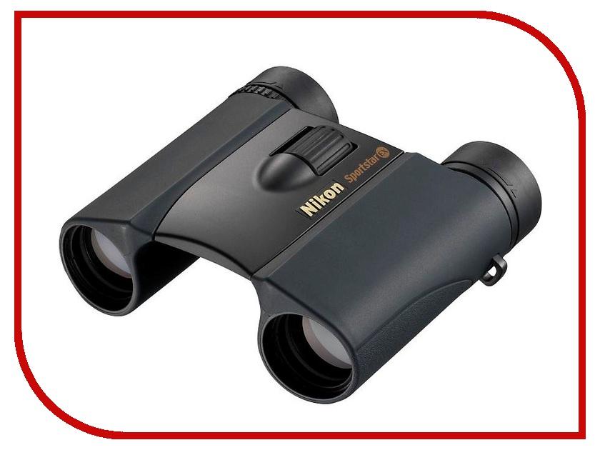 Бинокль Nikon 8x25 Sportstar EX DCF WP Black бинокль veber 8x25 wp цвет черный желтый