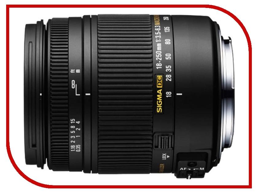 Объектив Sigma Sony / Minolta AF 18-250 mm F/3.5-6.3 DC HSM MACRO