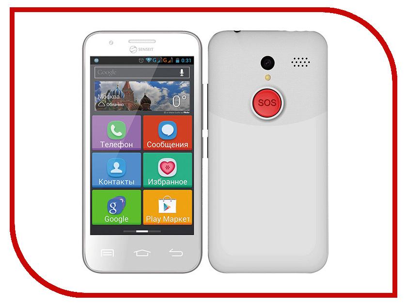 Сотовый телефон SENSEIT L301 White<br>