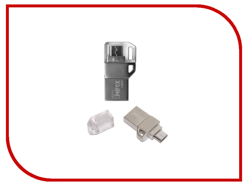 USB Flash Drive 16Gb - Mirex BINAR 13600-ITRBIN16<br>