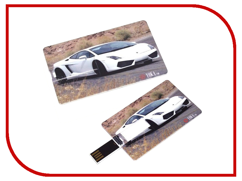 USB Flash Drive 8Gb - ������ ����� ������ White 94156