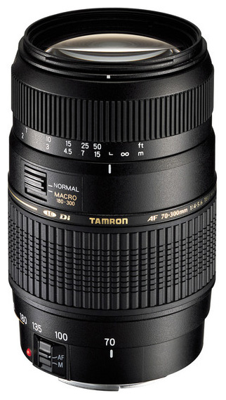 Объектив Tamron AF 70-300mm F/4-5.6 Di LD MACRO 1:2 Nikon F цена