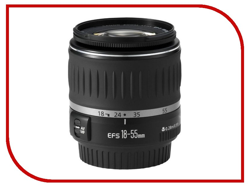 Zakazat.ru: Объектив Canon EF-S 18-55mm f/3.5-5.6