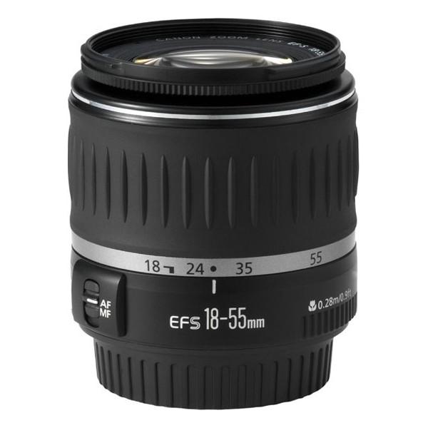 Объектив Canon EF-S 18-55mm f/3.5-5.6 объектив sony dt 18 55mm f 3 5 5 6 sal 1855