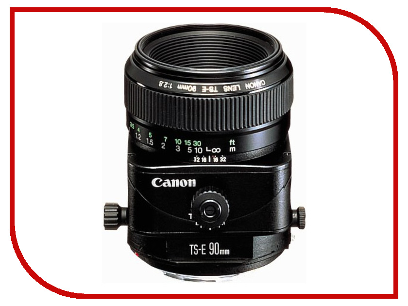 Объектив Canon TS-E 90 mm F/2.8 shift ts e 24mm f3 5l ii