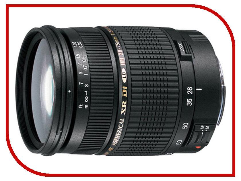Объектив Tamron Nikon SP AF 28-75 mm F/2.8 XR DiII LD Aspherical (IF) Macroобъективы для Nikon/FujiFilm<br><br>