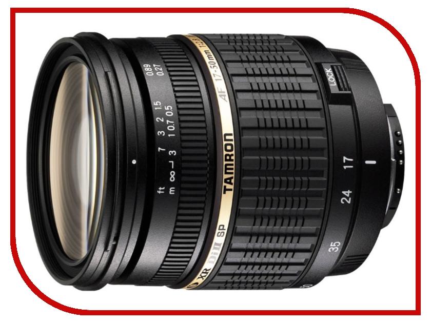 Объектив Tamron SP AF 17-50mm f/2.8 XR Di II LD Aspherical (IF) Nikon F wei masi 50 50mm 25 90