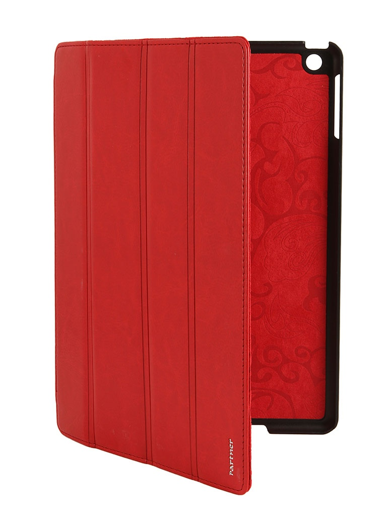 Аксессуар Чехол Partner SmartCover for iPad 5 Air Red<br>